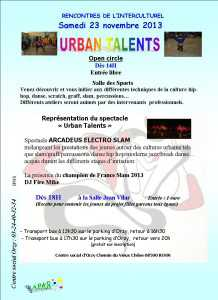 tracts urban talents 2013
